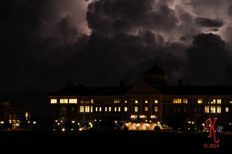 Lightning over Research Campus